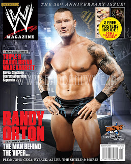 WWE's August 2013 (30th Anniversary) Issue Preview + High Quality Cover Art Download (feat. Randy Orton)