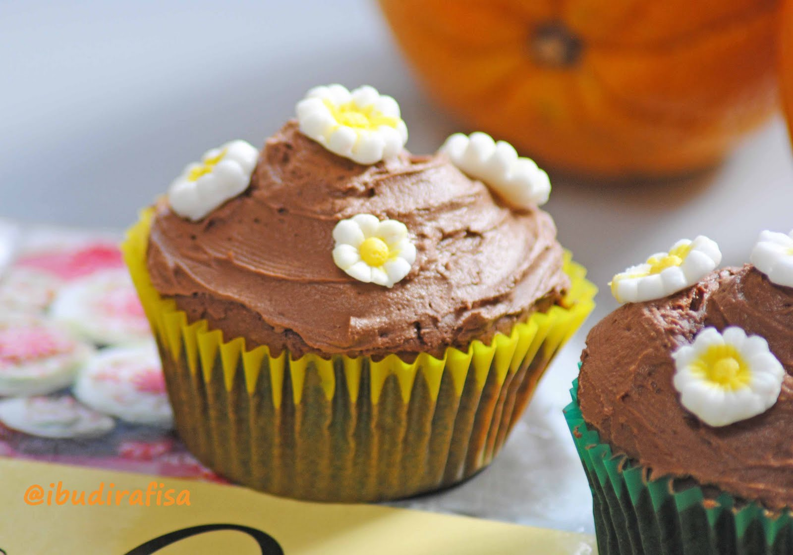 Ibudirafisa: Chocolate Orange Cupcakes