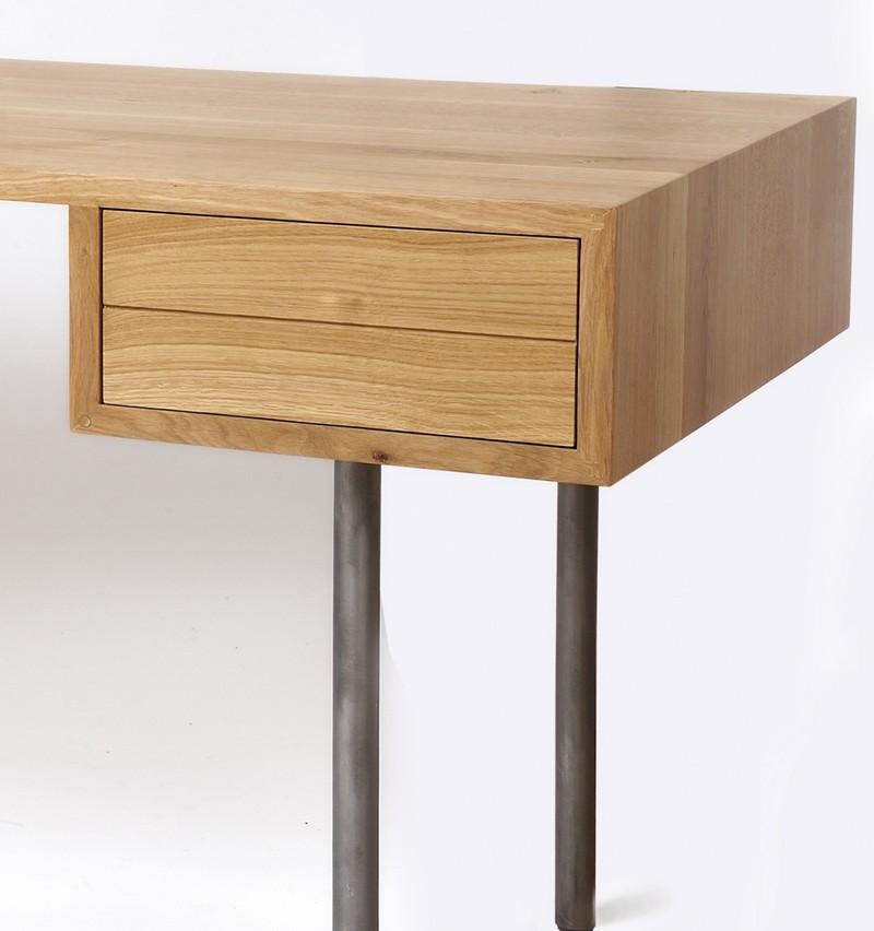 Nouveaux bureaux design en bois le blog de loftboutik for Bureau style loft