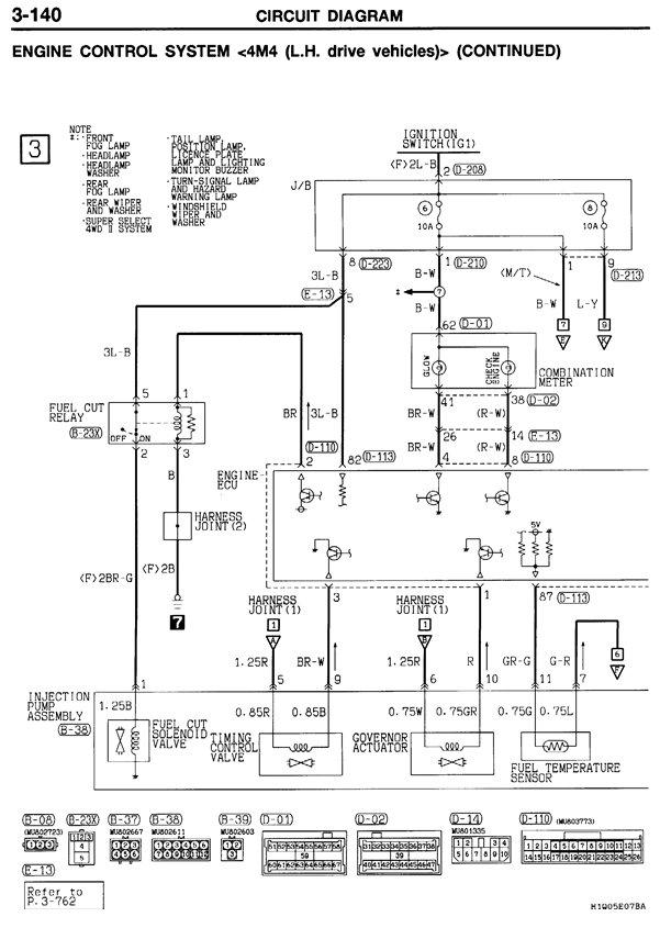 схема zexel vrz 4m41