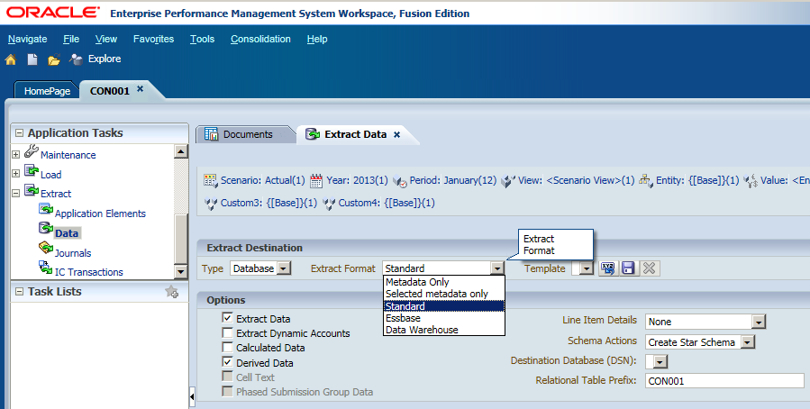 It is all about Hyperion...: HFM 11.1.2.3 (2) - Metadata and Overview