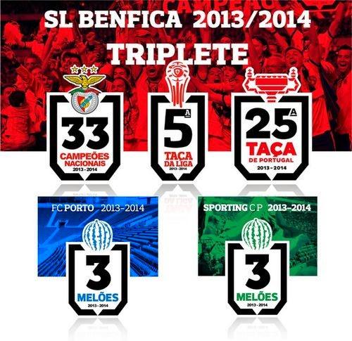 TRIPLETES E MELÕES 2013/14