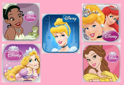 Disney Princess iOS apps