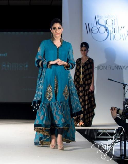 Gul Ahmed Fashion at the Asiana Bridal Show 2013 in London ...