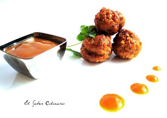 Alb ndigas de ternera con salsa sukiyaki cocina japonesa for Utensilios cocina japonesa