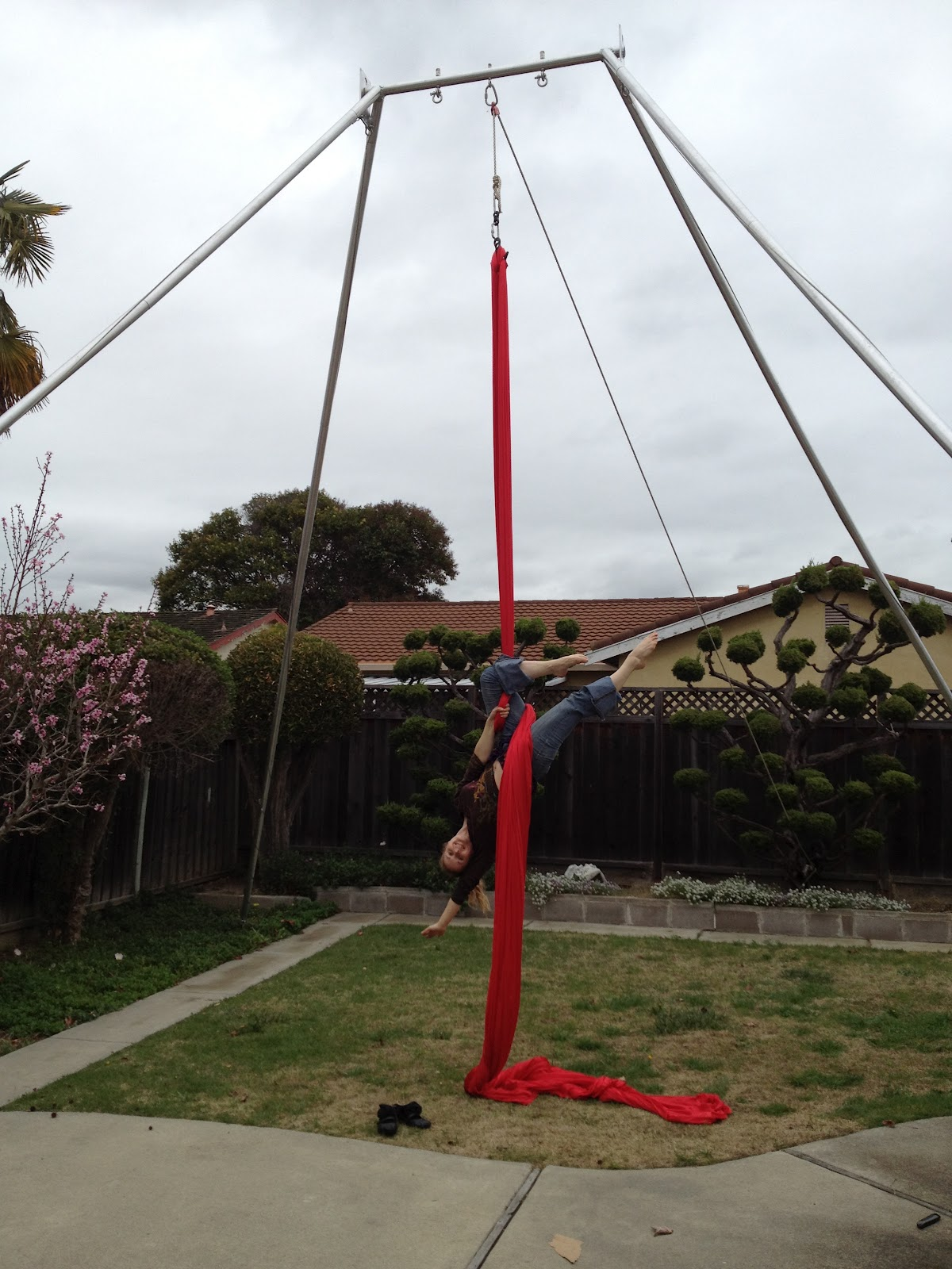 Free Standing Aerial Rig First Time Assembly Fire Pixie