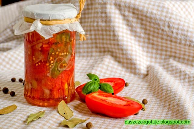 Pomidory w galarecie
