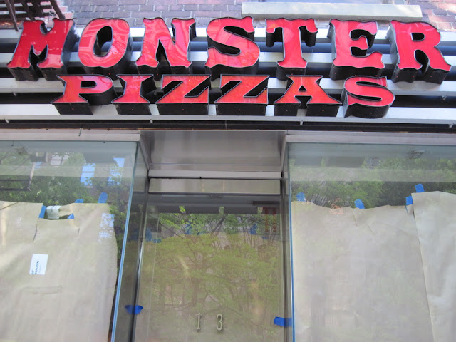 Yet another New York City pizza place that couldn't be monsterous enough.