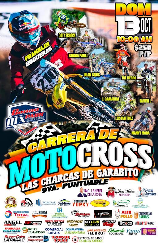 Carrera de Motocross en San Juan