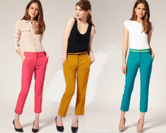 Related Keywords & Suggestions for How To Wear Colored Pants For Women