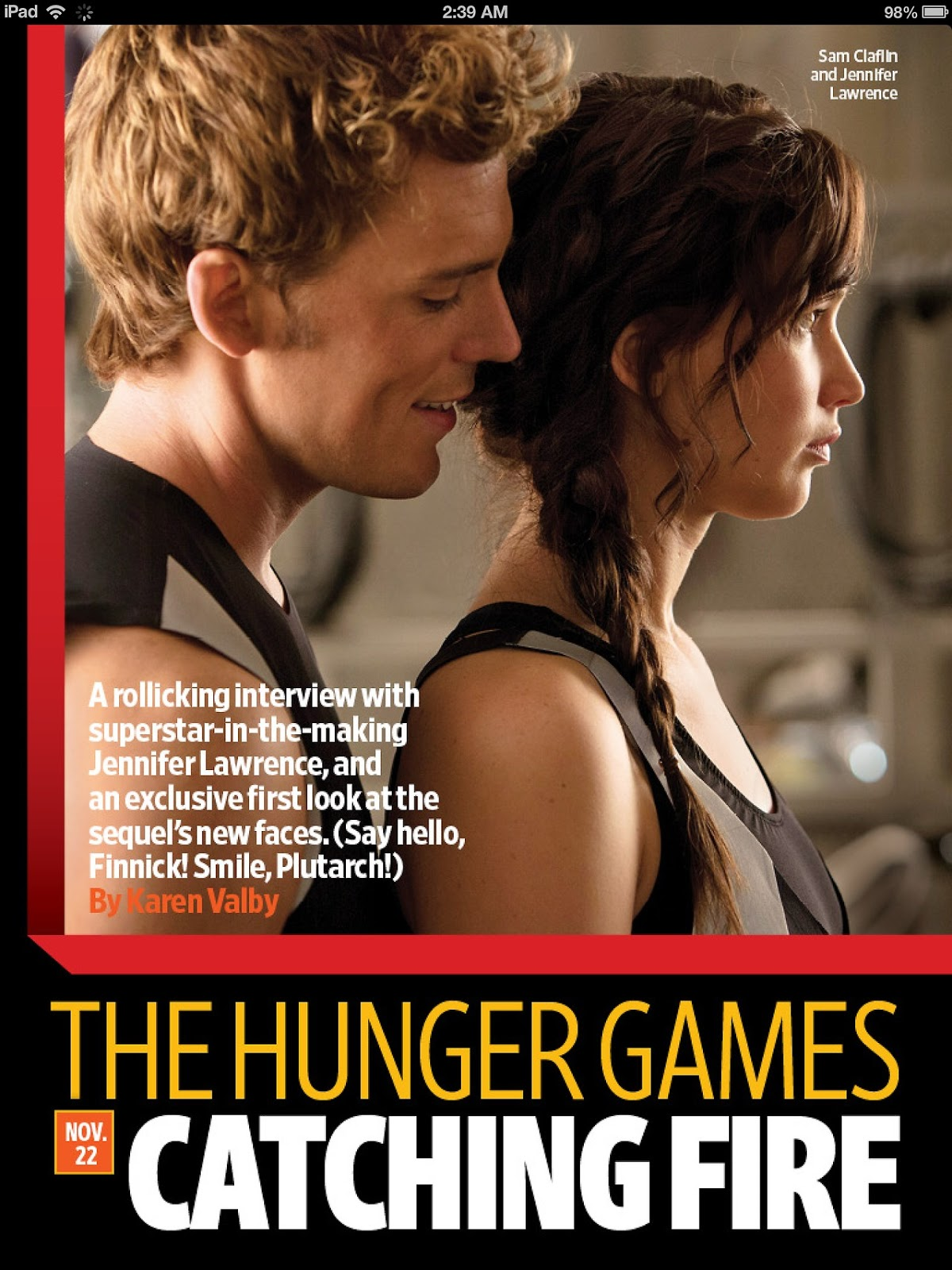 Actualizado scans de la revista entertainment weekly for Revista pronto primicias ya