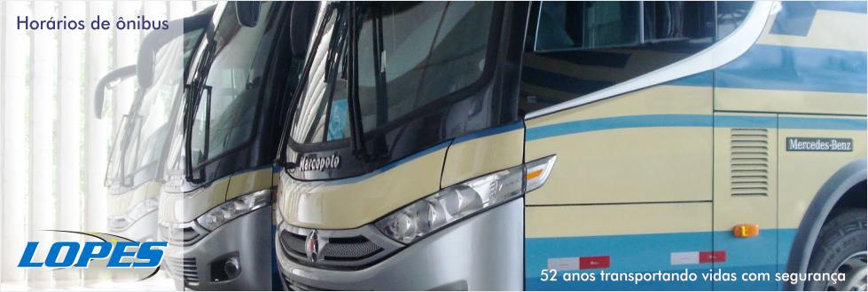 Horários de ônibus da Lopes