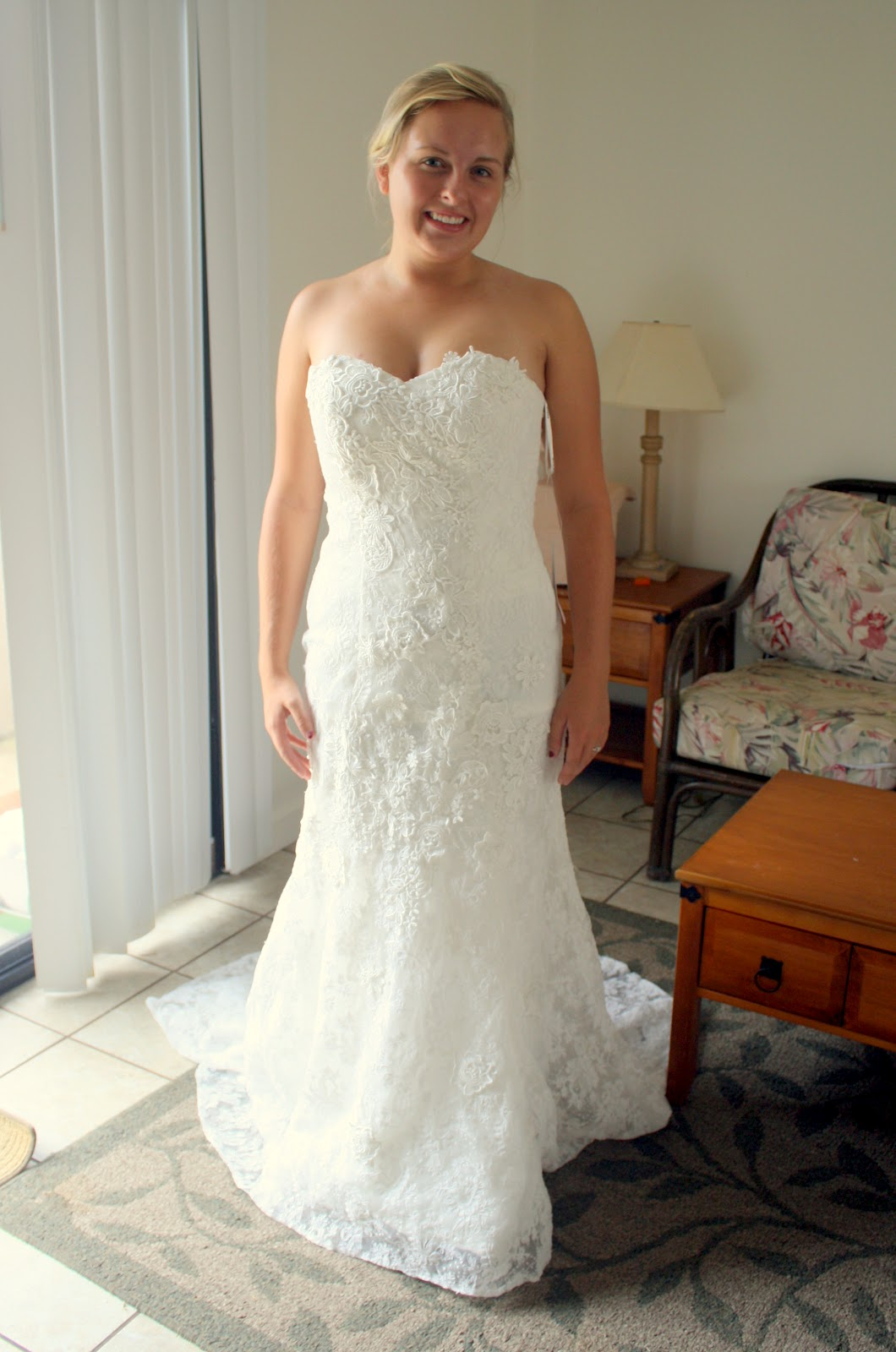Sew Laie Online Ordered Wedding Dress Disaster Averted