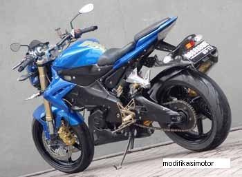 Gambar Modifikasi Motor Yamaha Vixion New
