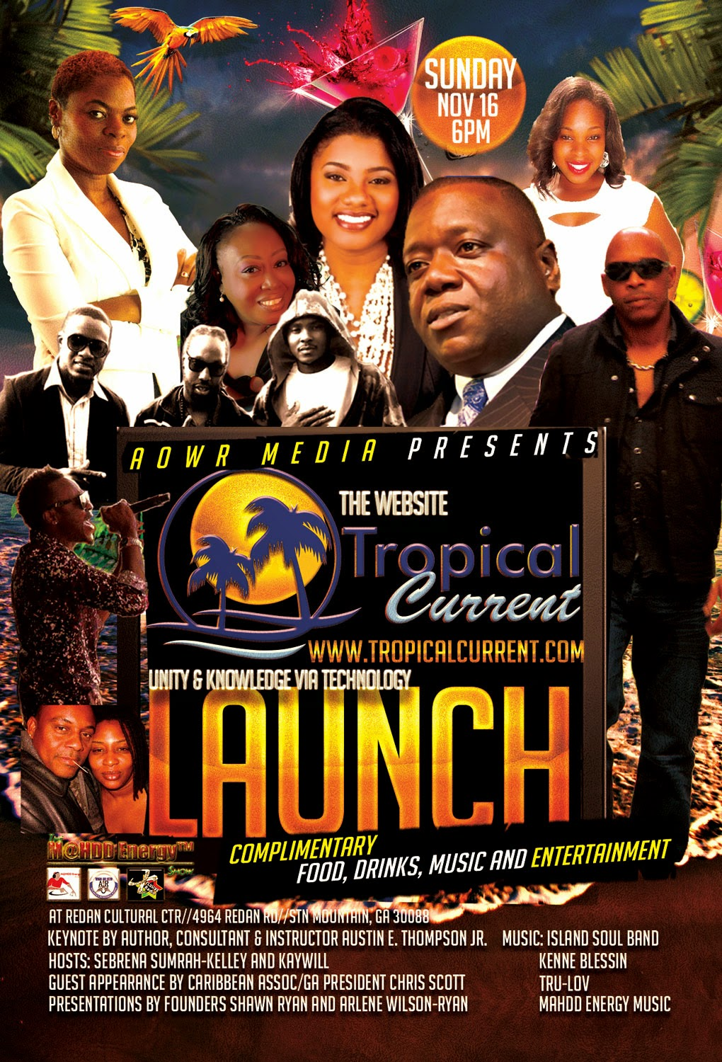 Tropical Current Launch - You are invited