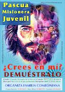 Pascua misionera juvenil. Publicado por Bo Beatriz en 21:29 Etiquetas: . cartel pascua