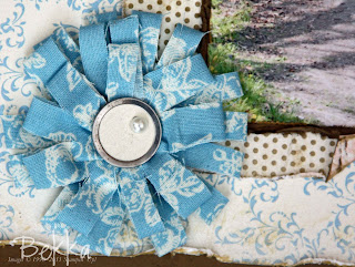Beau Chateau No Sew Fabric Flower