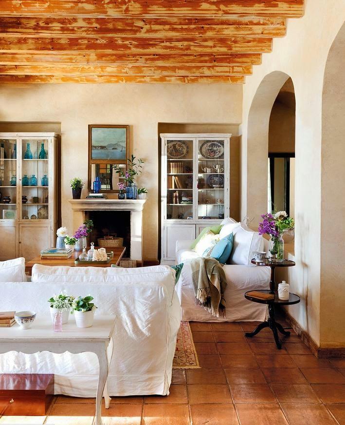 Un faro de ideas una casa provenzal en menorca - Decoracion estilo mediterraneo ...
