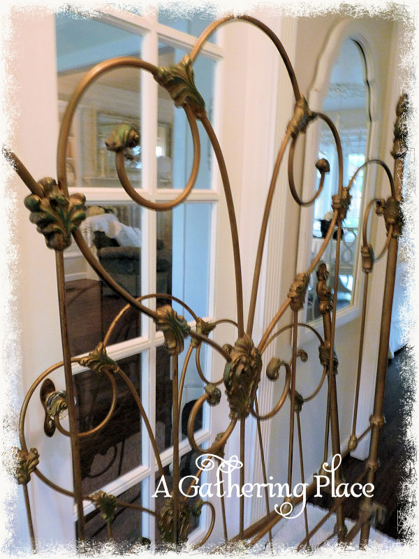 ~HOW WE REPAIRED OUR VINTAGE IRON BED~