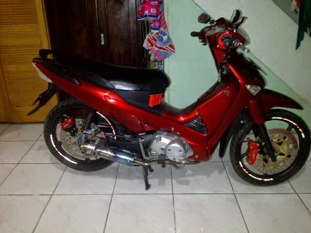 modifikasi motor supra x 125 tahun 2005