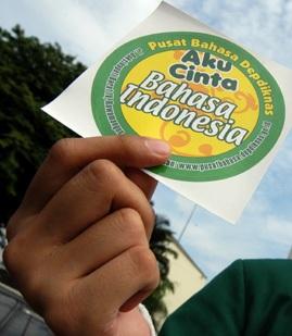 masyarakat penutur bahasa indonesia yang menggunakan ragam bahasa