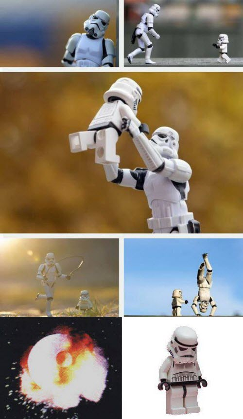 Stormtrooper and son