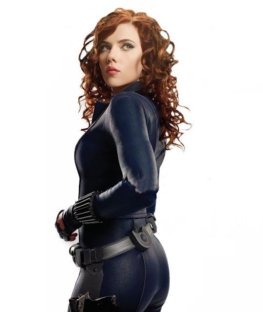 Scarlett Johansson Black Widow Avengers legends.filminspector.com
