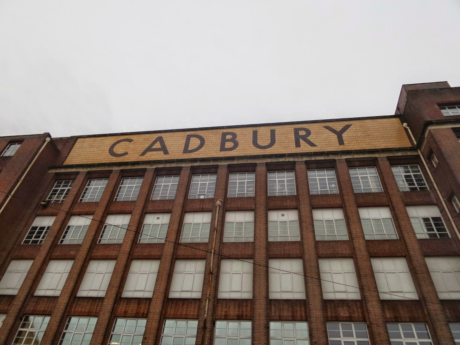 Cadbury World. If you sniff hard enough, you can smell the chocolate!