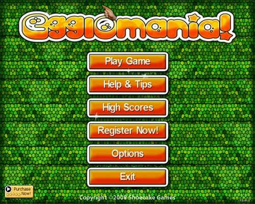 لعبة ترتيب البيض Egglomania