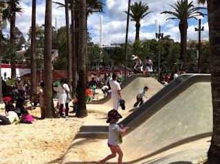 Darling Quarter - Slides & Sandpit