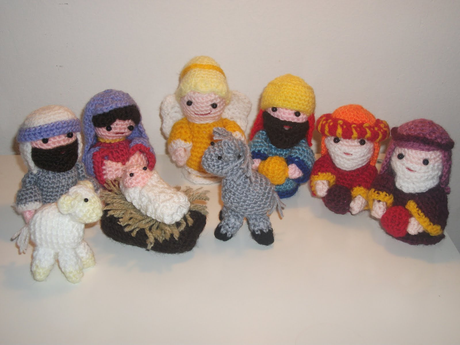 Crochet Patterns Nativity Scene : Crochet Nativity Scene Free Pattern Search Results ...