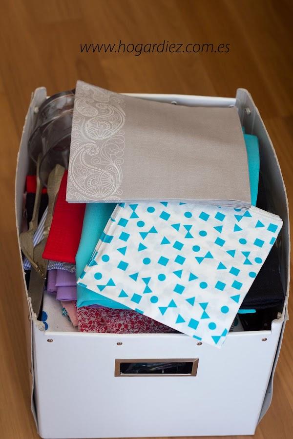 Mi caja con atrezzos para fotografía