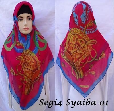 Grosir Jilbab Segiempat murah
