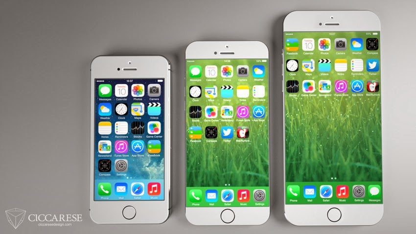The iPhone 6 Might Look Like This With a Larger Screen