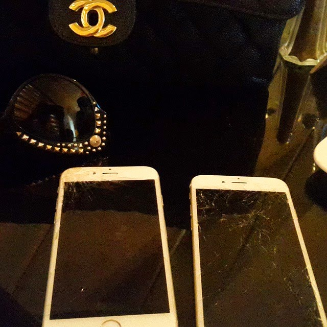 Chai! Tonto Dikeh Damaged two Iphone 6 Within 3 days