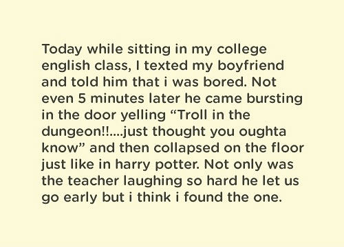 Troll In The Dungeon! - College