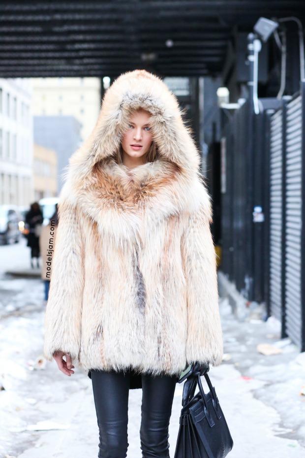 Daria Strokous, New York, February 2015