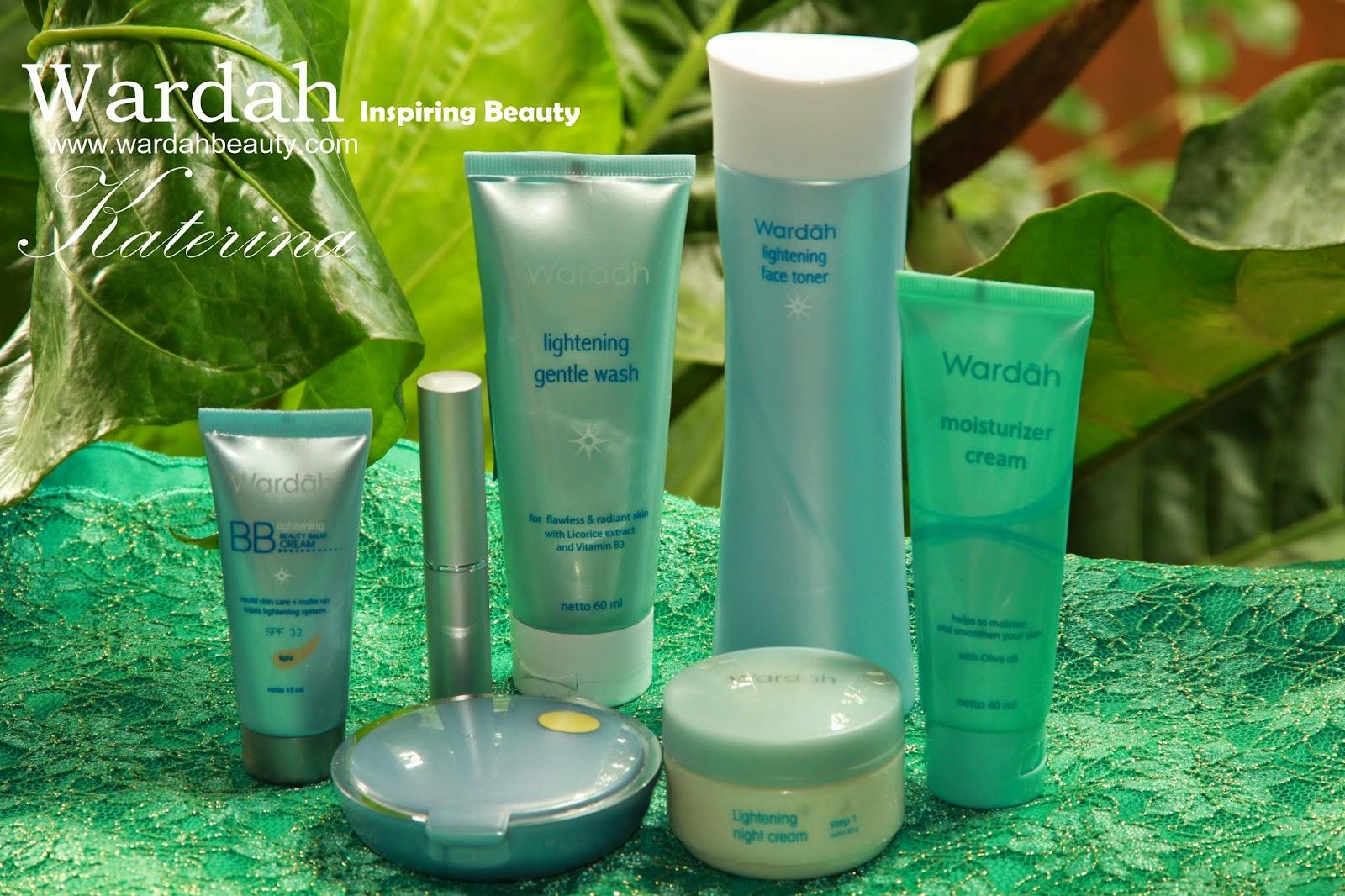 Memilih Kosmetika Halal Aman Dan Alami Katerina Wardah Lightening Grntle Wash Rangkaian Produk Untuk Penggunaan Sehari