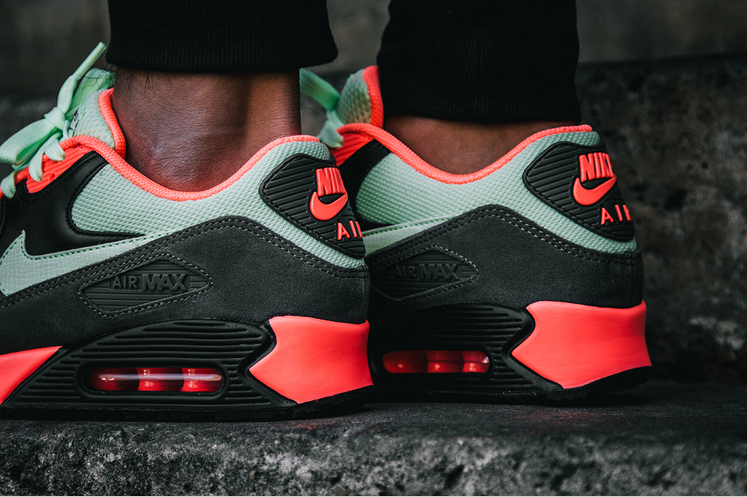 nike air max 90 mint red