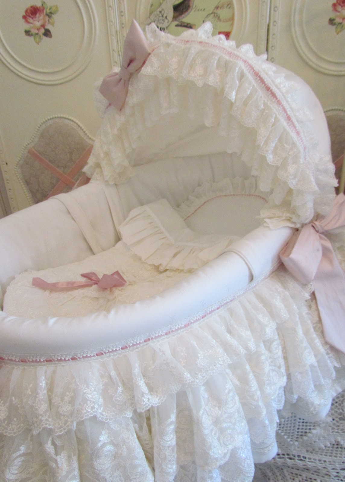 Vintage Baby Girl Bedding