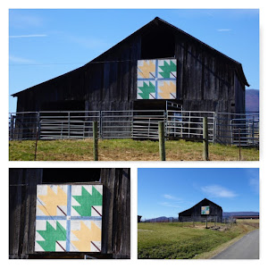 Maple Leaf Barn Quilt