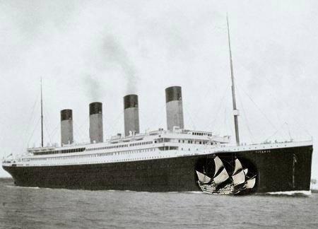 Rebel PuritAn Titanic Or Mayflower Which Ship Would You Take - Titanic vs cruise ships today