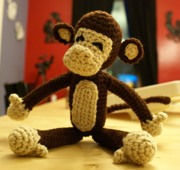 Crochet For Free: A Monkey