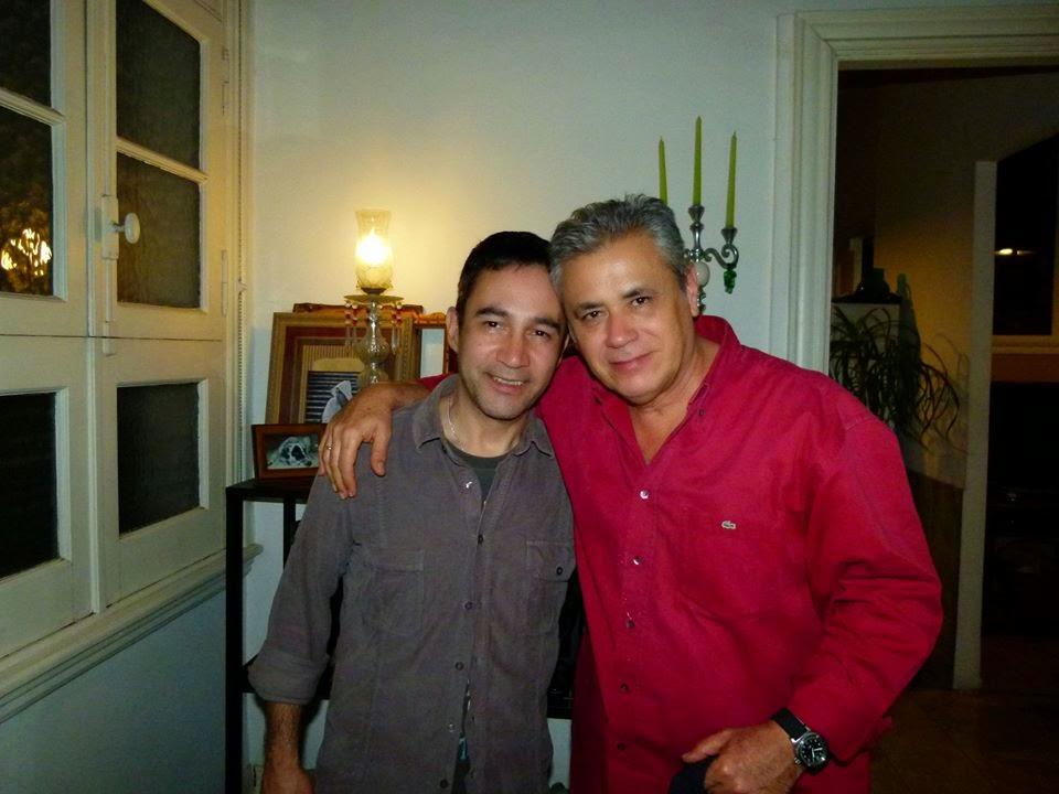 Visita de SENEL PAZ a Buenos Aires