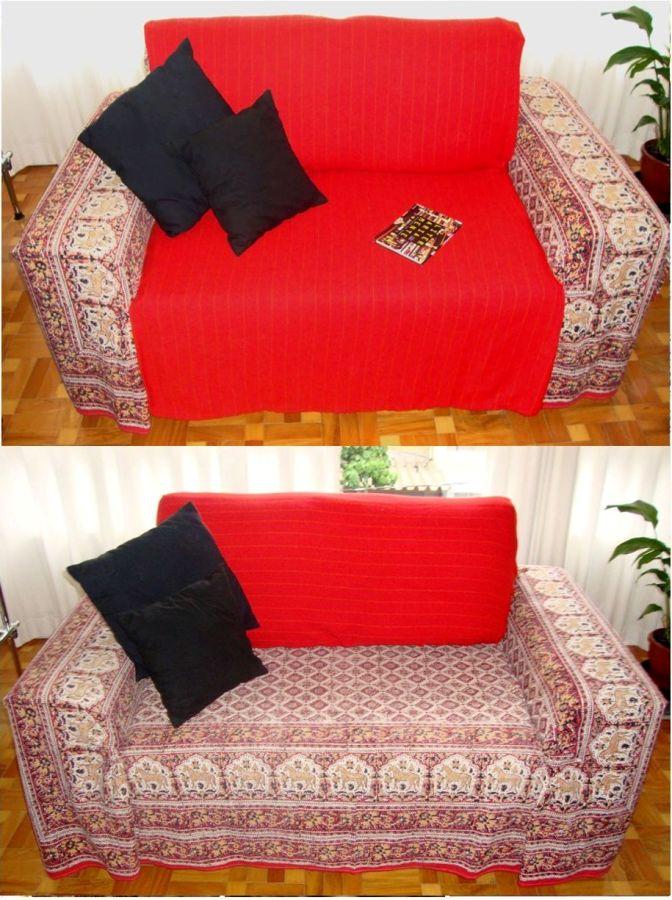 Renove seu sof com criatividade e pouco dinheiro casas for Manta no sofa como usar
