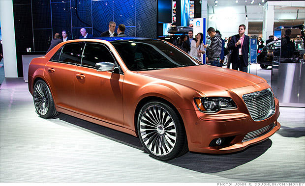 The Happy Car Salesman Chrysler 300 Turbine Concept Car
