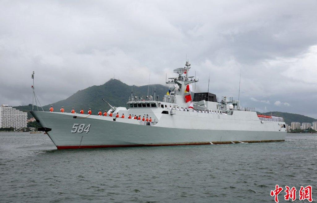 كورفيت تايغر للبحرية الجزائرية Pla+navy+cHINESE+NAVY+tYPE+056+JIANGDAO+Class+Light+Frigate+CORVETTE+COMISSIONED+Zhonghua+582+583+Putuo+586+Xiamen+%2883+Subchaser+Huangpu+596++597+Hong+Kong++587+Xiamen+%2883+Subchaser+Wuhan+584+585+missile+fired+%281%29