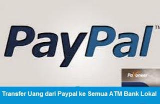 Cara Lengkap Kirim/Transfer Uang dari Akun Paypal ke Semua ATM Bri, BNi, Mandiri panin bank, BTN dll