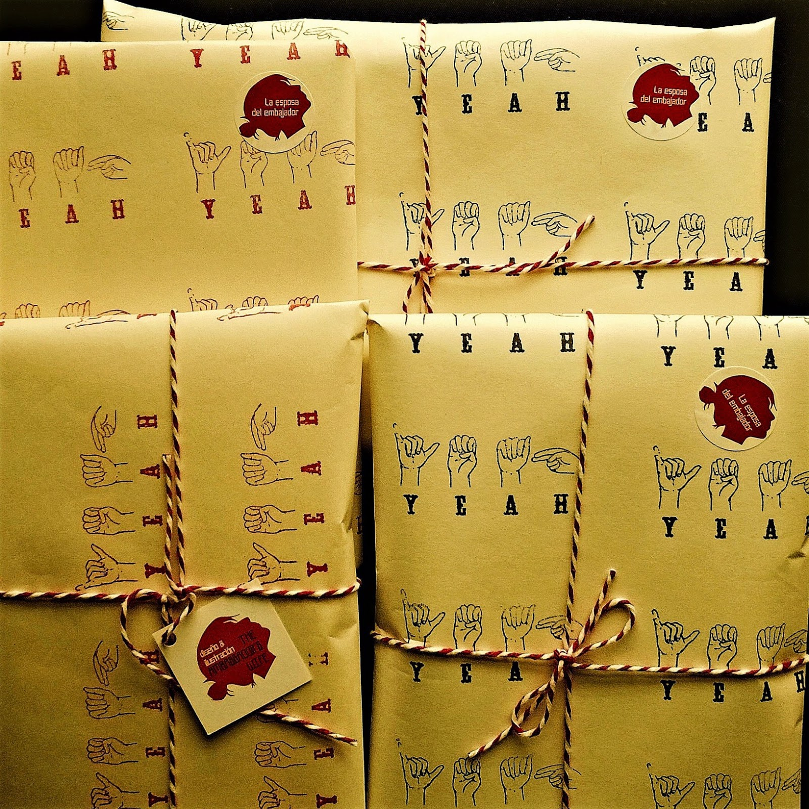 La esposa del embajador - Packaging
