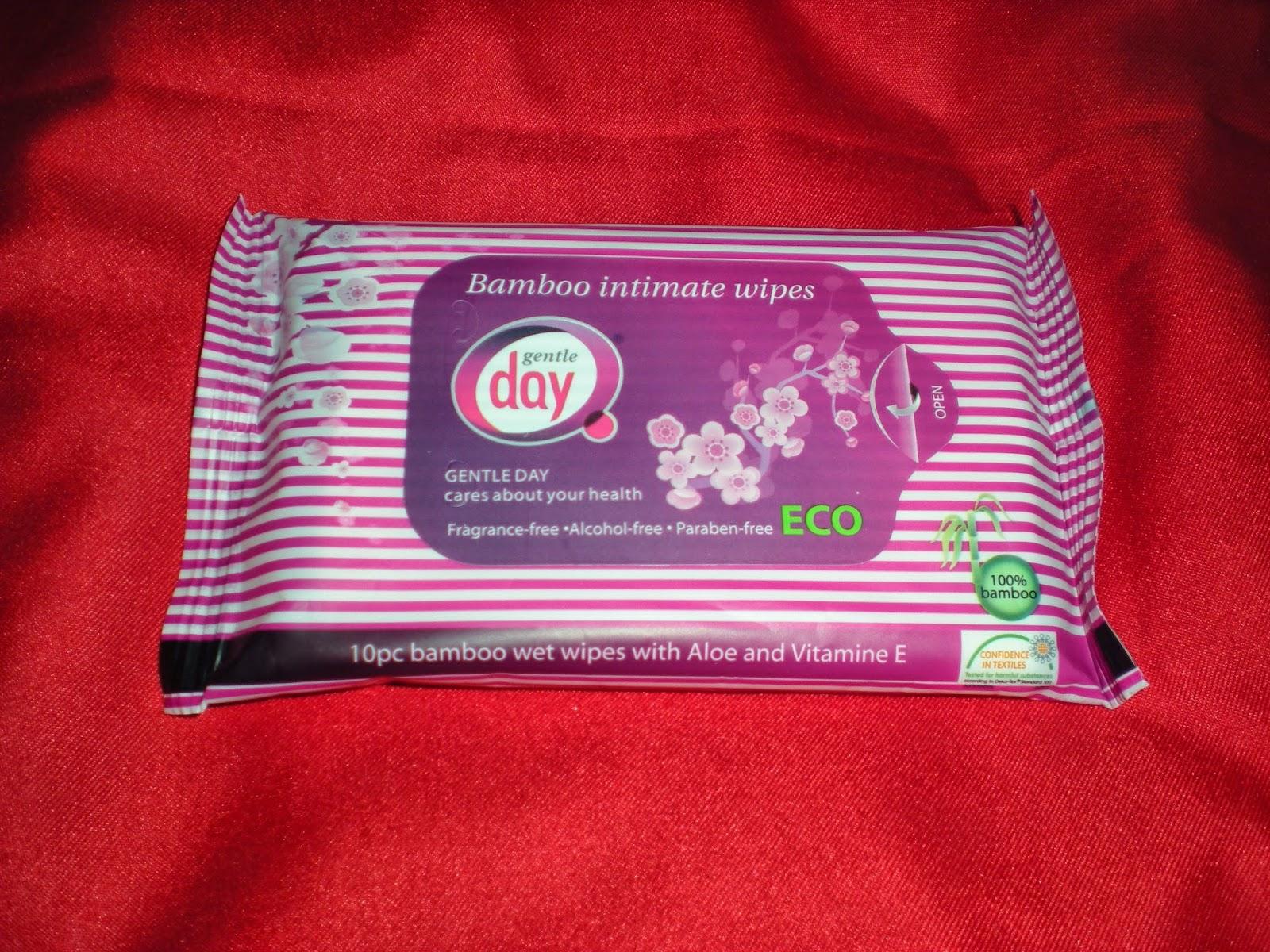 Chusteczki nawilżane ECO do higieny intymnej GentleDay